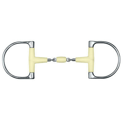 Happy Mouth King Dee Double Jointed Snaffle Bit w/Roller - Sizes: 5 & 5.5