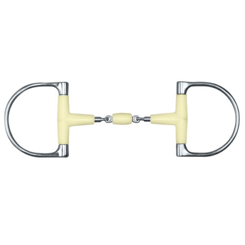 """Happy Mouth King Dee Double Jointed Snaffle Bit w/Roller - Sizes: 5 & 5.5"""""""