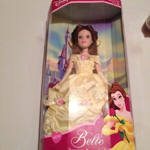 BNIB Beauty and the beast toy porcelain collectable doll