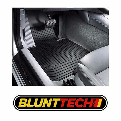 NEW GENUINE BMW All WEATHER FLOOR MATS E82E88 FRONT