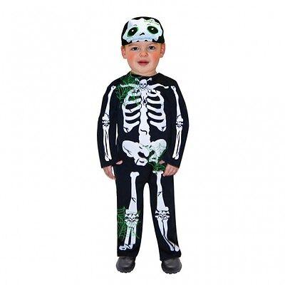 amscan Halloween Kostüm Skeleton Overal mit