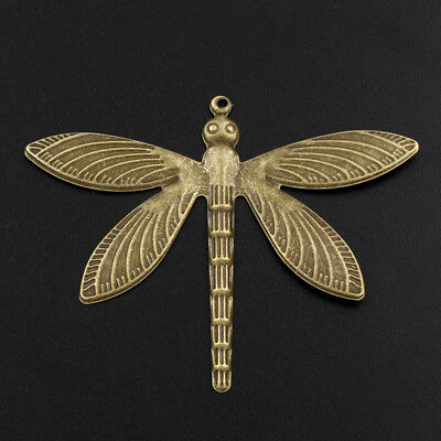 ament LIBELLE 5-10-20 Stück Bronze 63mm Filigran - p00861--v (Libelle, Ornamente)