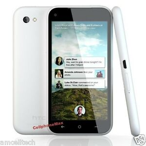 HTC-First-PM33100-White-UNLOCKED-Android-4-1-LTE-WiFi-16GB-Facebook-Phone-GOOD