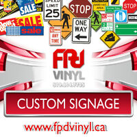 Custom Signs of All Kinds - Signage in London Ontario