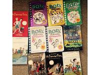 Job lot of girls books