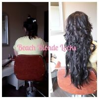 ALL HAIR EXTENSION SERVICES $ 100 TILL END OF JULY