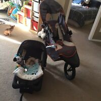 Safety first travel system only 4 months old