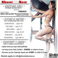 Calendar Casting for Valley Girls and Bikini Babes!
