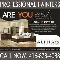 Need a residential or commercial painter? 100% SATISFACTION!