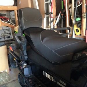 Ski Doo 1+1 linq 2 up seat and backrest - XR XS XM Etc