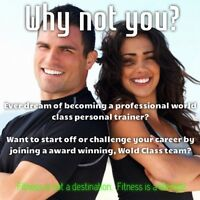 Fitness Trainer/Group Trainer- With Entrepreneurship Ambition