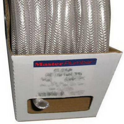 Mp T12004002 38 Id X 58 Od X 100 Clear Braided Reinforced Pvc Hose