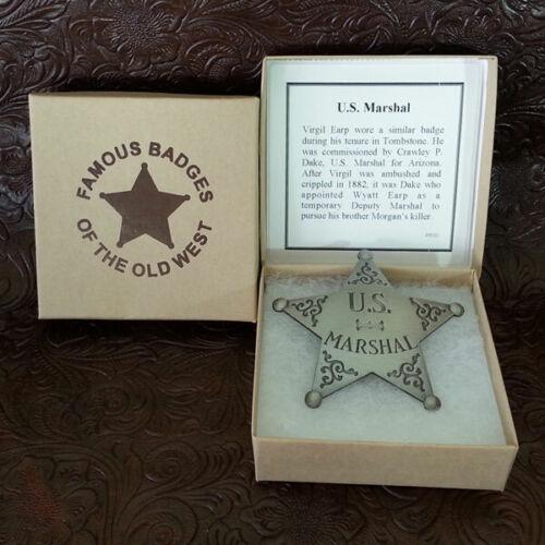 US Marshall Tombstone Badge (Virgil Earp)