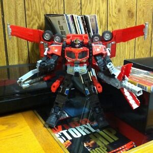 Transformers Cybertron Galaxy Force Leader Class Optimus Prime