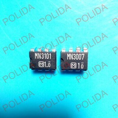 1pair Clock Generatordriver Ic Panasonic Dip-8 Mn3007mn3101