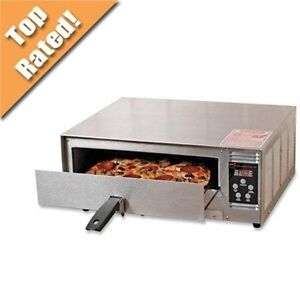 Countertop Pizza Oven Used : Wisco Pizza Digital Stainless Steel Countertop Snack Oven - NEW ...