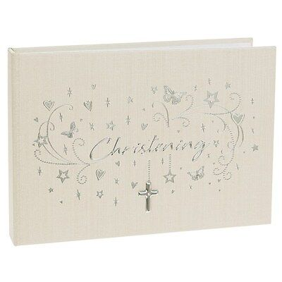 Christening Star Cluster Photo Album - Christening Photo Album -  6x4""