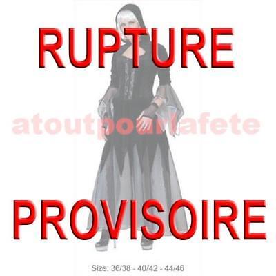 Déguisement de Vampire Sorcière,Gothic,Halloween,Loup garou,Horreur,Femme,Fête