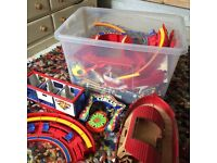 Playmobil Circus set, Noahs Arc set and lots of animals and people and extras