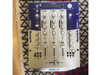 Numark dxm 09 digital 3 channel mixer.