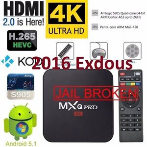 NEW 2016 ANDROID TV BOX<QUAD CORE<FULLY LOADED<2 year warranty