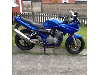 Suzuki bandit 600, 2005 model, may deliver