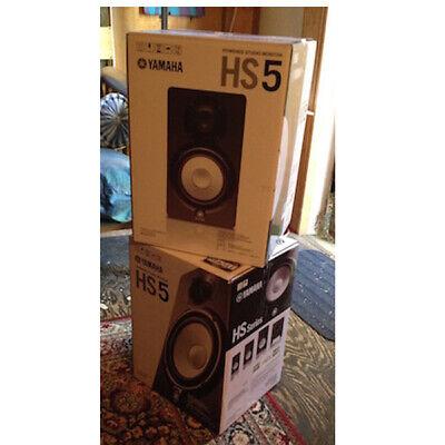 Yamaha HS5 Powered Studio Monitor Pair HS-5 X2 Pair  *Used*