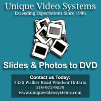 35mm Slides & Photos Transferred to DVD