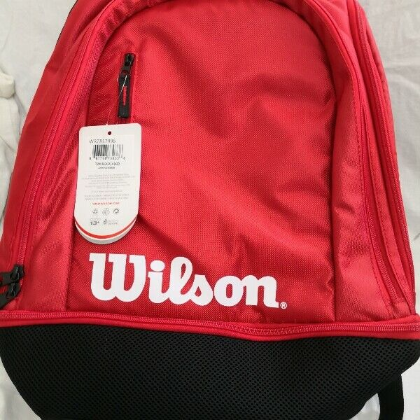 *New* Wilson tennis / badminton backpack bag. Hold two racquets. light, spacious and waterproof.