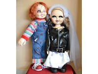 Collectors Rare Life Size Chucky and Tiffany Doll