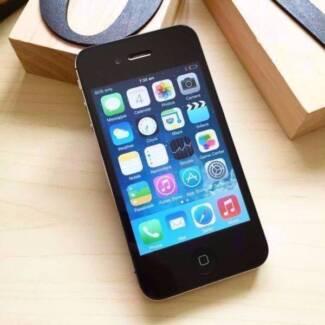 GOOD CONDITION IPHONE 4S 16GB BLACK UNLOCKED WARRANTY
