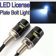 LED License Plate Light Bolt