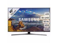 40'' SAMSUNG SMART 4K ULTRA HDR LED TV.2017 MODEL UE40MU6400. FREESAT HD.FREE DELIVERY/SETUP