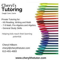 Tutoring for Manotick, Barrhaven and Riverside South