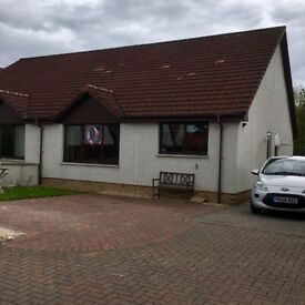 Three bedroom semi detached bungalow In Castle Heather Crescent, Inverness