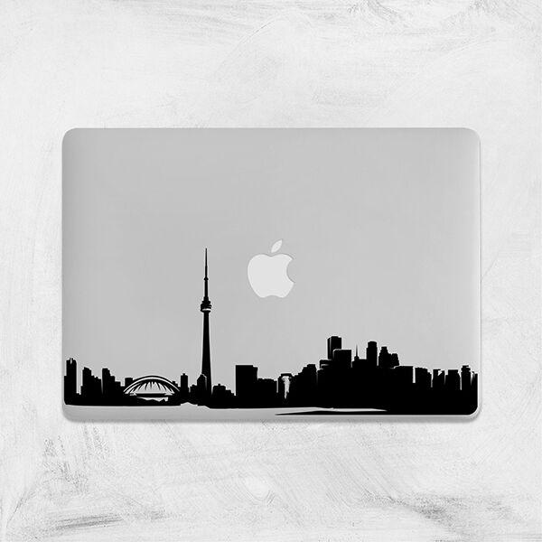 Toronto Skyline Decal for Macbook Pro Sticker Vinyl laptop Canada skin 11 13 15