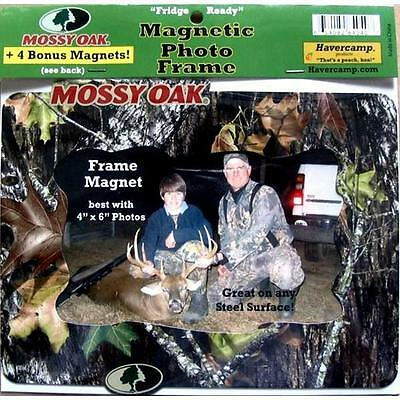 CAMO mossy oak magnetic photo frame 4 x 6 in 100x150 MM picture fridge magnet](Magnetic Photo Frame)