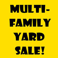 Multi-Family Garage Sale on Front Rd