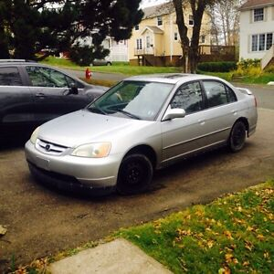 Trade 03 civic with cash for 2 stroke bike