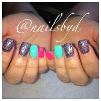 Quality gel nails! Same day appts available!