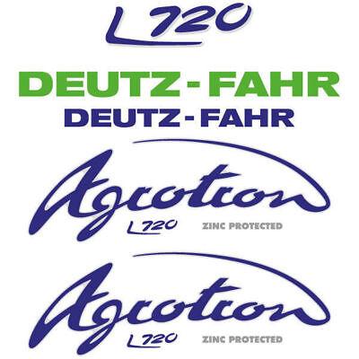 Deutz-fahr Agrotron L720 Tractor Decal Aufkleber Sticker Set