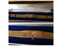 Vintage Copvette 9ct Gold Plated Ladies Watch Next to New with Gift Box & Winds Up