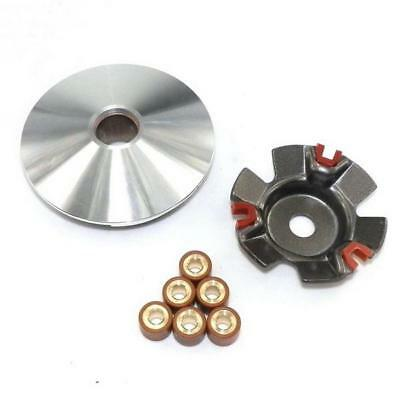 GY6 125 150cc PERFORMANCE VARIATOR SET W/11gm ROLLERS FOR MOPED SCOOTER