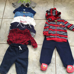 Baby Boy Clothing Lot 9M-2T