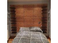 Single wardrobe and headboards (Ikea)