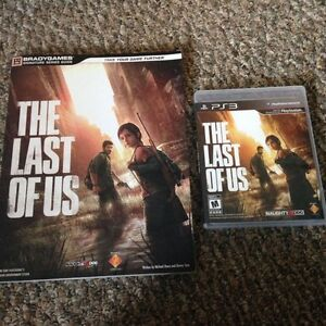The last of us PS3 with guide