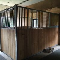 Horse Stall in Good Condition