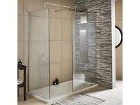 Brand New Premier Walk-In Shower Enclosure 1200mm x 800mm