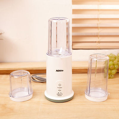 Electric Juice Juicer Blender Kitchen Mixer Drink Bottle Smoothie Maker Fruit