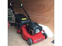Mountfield M554 R/ES 53cm cut self propelled roller petrol lawnmower